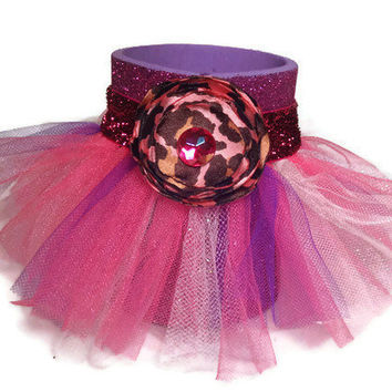 Purple Glitter Tutu Koozie can hug with by AffordableAdorableKC