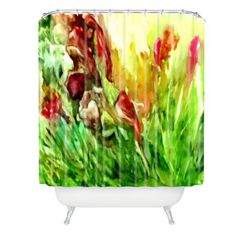 Rosie Brown Glorious Garden Shower Curtain