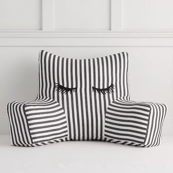 The Emily & Meritt Lashes Lounge Pillow Cover