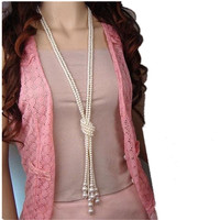 Romantic Pearl Necklaces
