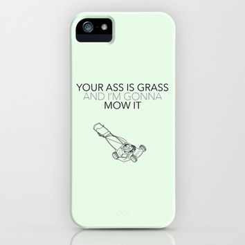 Mow It - Bob's Burgers iPhone & iPod Case by kirstenariel