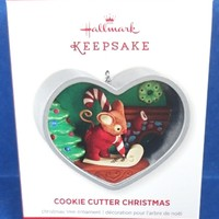 2013 Cookie Cutter Christmas Hallmark Retired Series Ornament