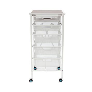 Origami® 5-Drawer Storage Cart
