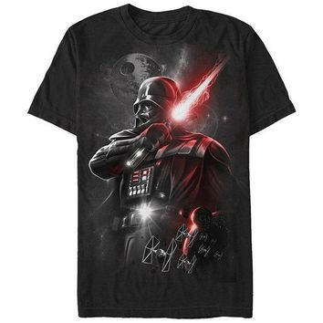 DCCKFS2 2017 hot Summer funny cool Fashion Printed Hipster Tops men's T Shirt Star Wars Men's Dark Lord Darth Vader Graphic T-Shirt