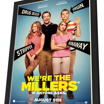We're the Millers 27x40 Framed Movie Poster (2013)