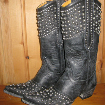 Old Gringo Leigh Anne Black Boots