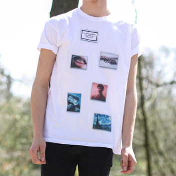 x AESTHETIC TEE x Tumblr Feed Apple Windows T-Shirt Unisex Cyber S M L