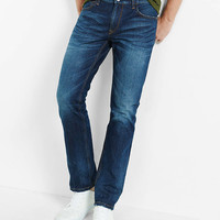 slim leg slim fit performance stretch jean