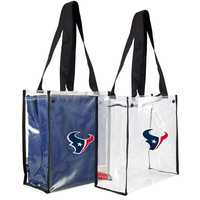 Houston Texans NFL Convertible Clear Tote