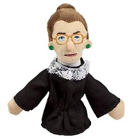 Ruth Bader Ginsburg Refrigerator Magnet and Finger Puppet