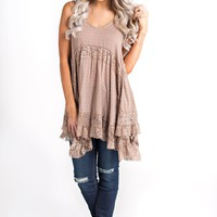 Randy Lace Top (Dune)