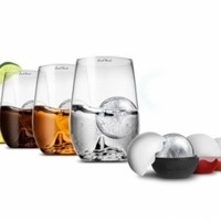 Rock Glasses with Ice Balls (Set of 4)