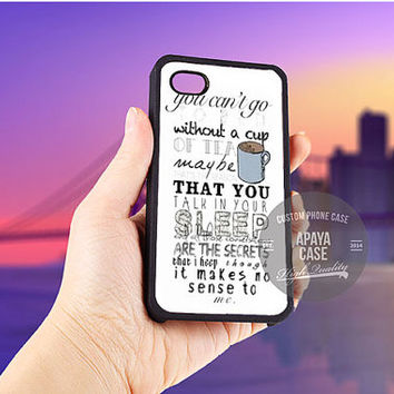 One Direction Cup Of Tea case for iPhone 5/5s/5c/4/4s/6/6+,iPod 4th 5th,Samsung Galaxy S3/S4/S5,Note 2/3,HTC One,LG Nexus
