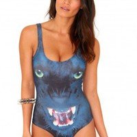 Missguided - Marietta Panther Fashion Swimsuit