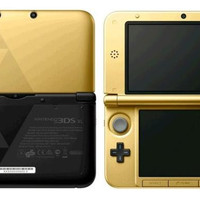 Nintendo 3DS XL Gold/Black - Zelda Limited Edition Console (Pre-owned)