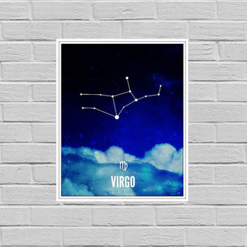 Zodiac Astrology Constellation Art Print