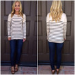 Oats & Boats Stripe Top