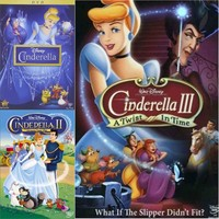 Cinderella DVD Trilogy Set Includes All 3 Movies