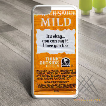 Taco Bell Sauce Custom case for iPhone, iPod and iPad