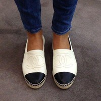 One-nice™ CHANEL Women Trending Espadrilles Flats Shoes