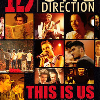 One Direction 27x40 Movie Poster (2013)