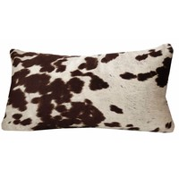 Brown Faux Cow Cushion