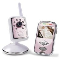 Summer Infant Slim & Secure Handheld Color Video Monitor 2.4 GHz Pink Baby Girls