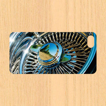 Car Rim iPhone 4/4S 5/5C 6/6+ Case and Samsung Galaxy S3/S4/S5