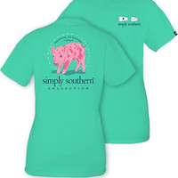 Simply Southern Little Pig Tee - Aruba