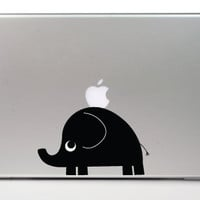 30&% OFF!-ELEPHANT Macbook decal Mac decal Apple macbook pro laptop macbook stickers for pro/air/ipad MacBook ipad decal Pig Cat Bunny Dog