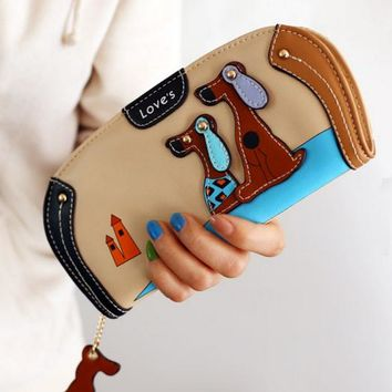 Beautiful Keepsake dog wallet/coin purse