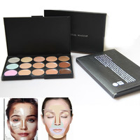 Professional 15 colors Concealer Palette contour palette Face Cream Care Camouflage Makeup base Cosmetics
