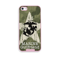 Shawnex US Marine Girlfriend Camo Pink Plastic iPhone 5 & 5S Case - Fits iPhone 5 & 5S