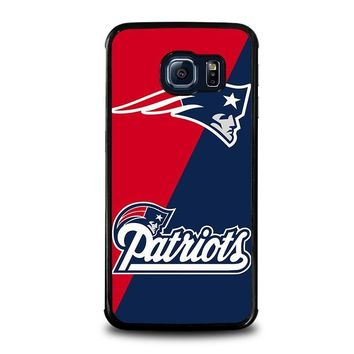 new england patriots samsung galaxy s6 edge case cover  number 3