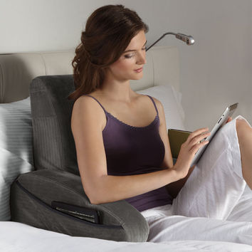 eComfort® Bed Rest Reading Pillow