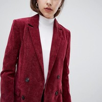 ASOS DESIGN blazer in cord at asos.com