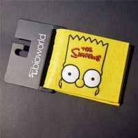The Simpson Bart Head Wallet