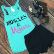 Muscles & Mascara: Mint