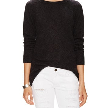 Cashmere Side Zip Sweater