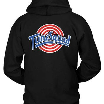 DCCKG72 Tune Squad Logo Classic Hoodie Two Sided