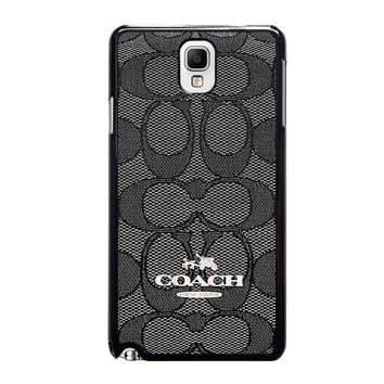 coach new york charlie signature samsung galaxy note 3 case cover  number 1