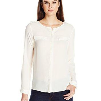 Dockers Womens Crepe Pocket Shirt