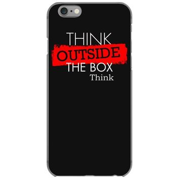 think outside the box thinker iPhone 6/6s Case
