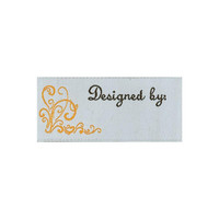 Designed by, 2 /pkg Woven Labels, Crafts, Sewing, Quilting, Premade Labels