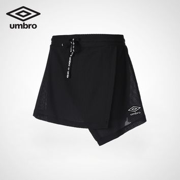 Umbro 2018 New Women Lifestyle Leisure Series Simple Short Dress Female Sportswear UI182AP3924
