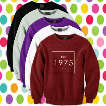the 1975 Sweatshirt Crewneck Unisex Size