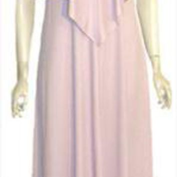 Lilli Diamond Pink Vintage 70s Party Dress