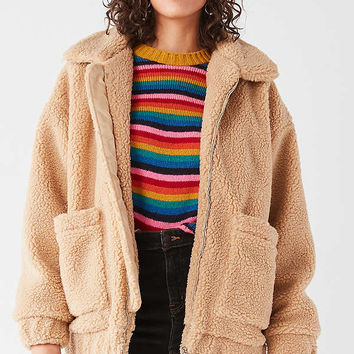 I.AM.GIA Pixie Teddy Coat | Urban Outfitters