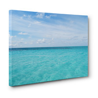 Cayman Island Waters - Gallery Wrap Canvas