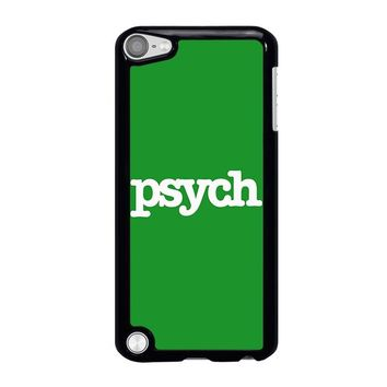 PSYCH iPod Touch 5 Case Cover